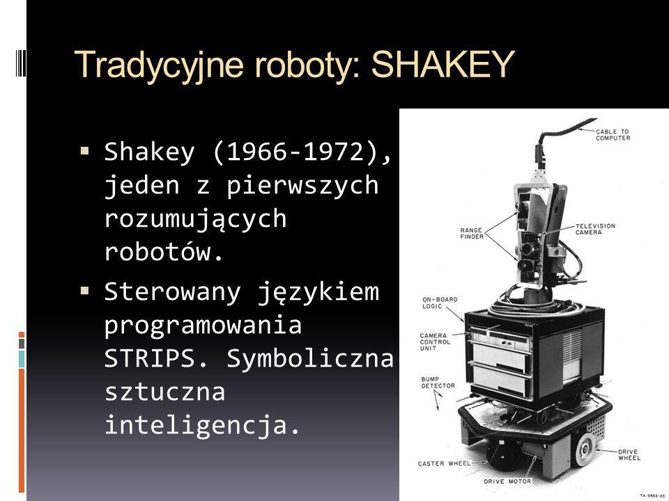 Tradycyjne roboty: SHAKEY