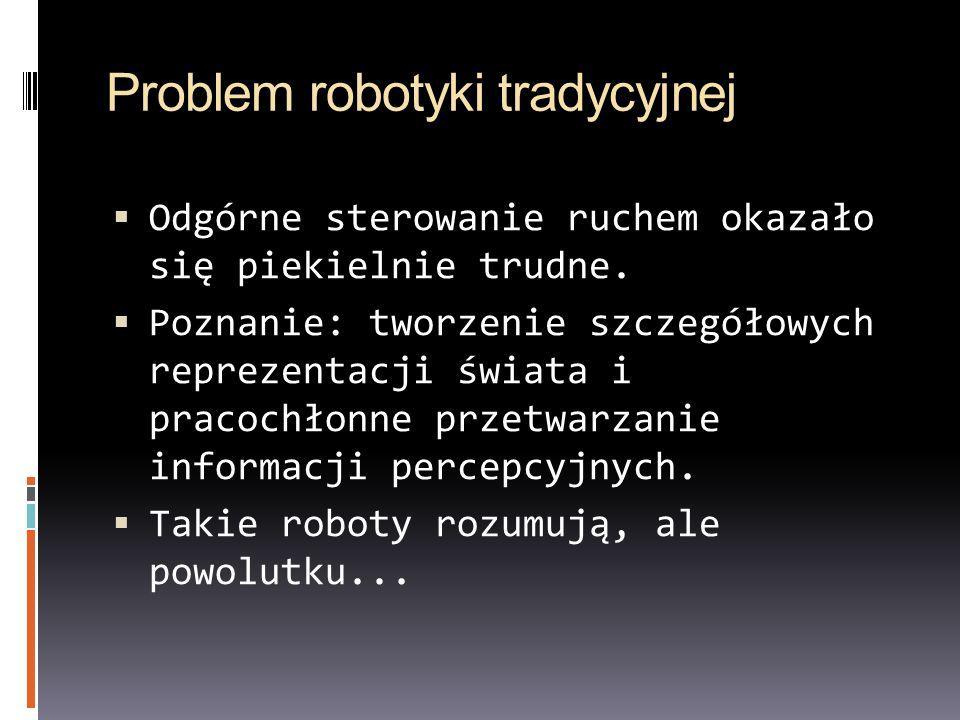 Problem robotyki tradycyjnej