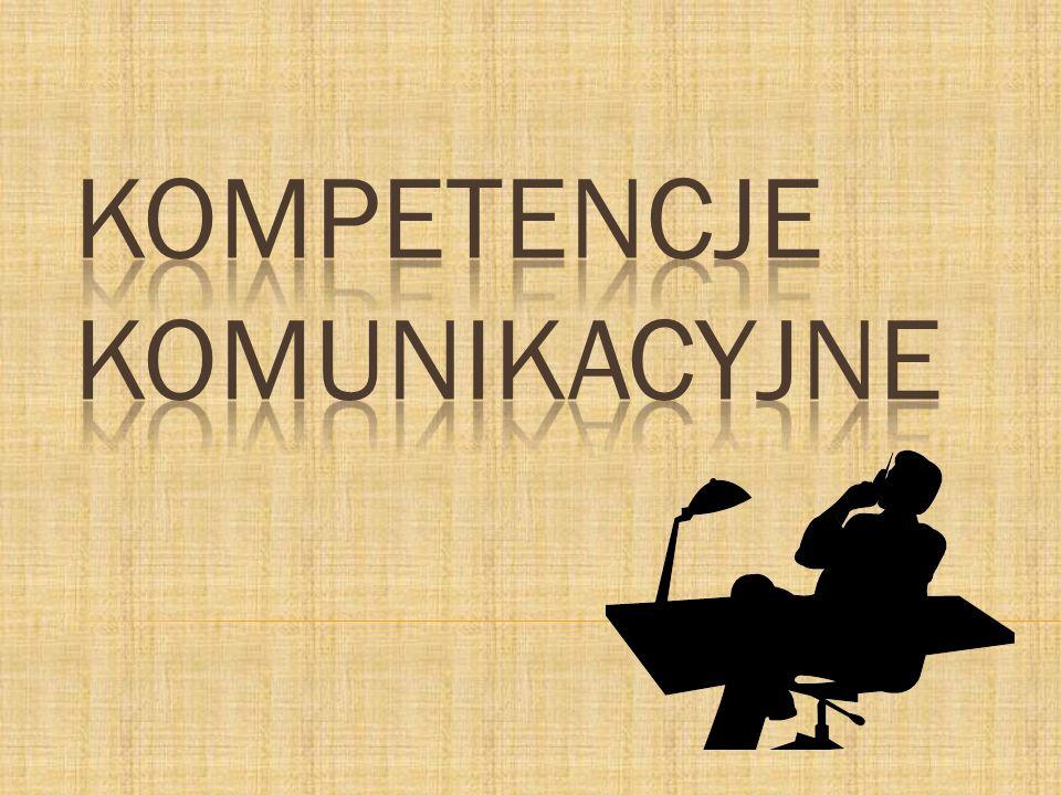 Kompetencje komunikacyjne