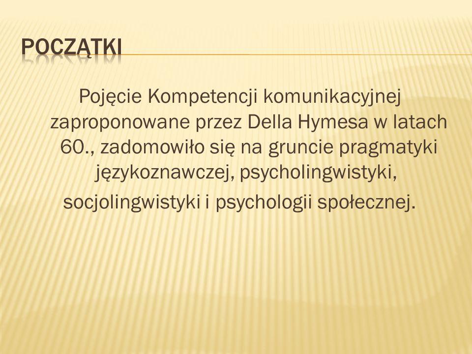 socjolingwistyki i psychologii społecznej.