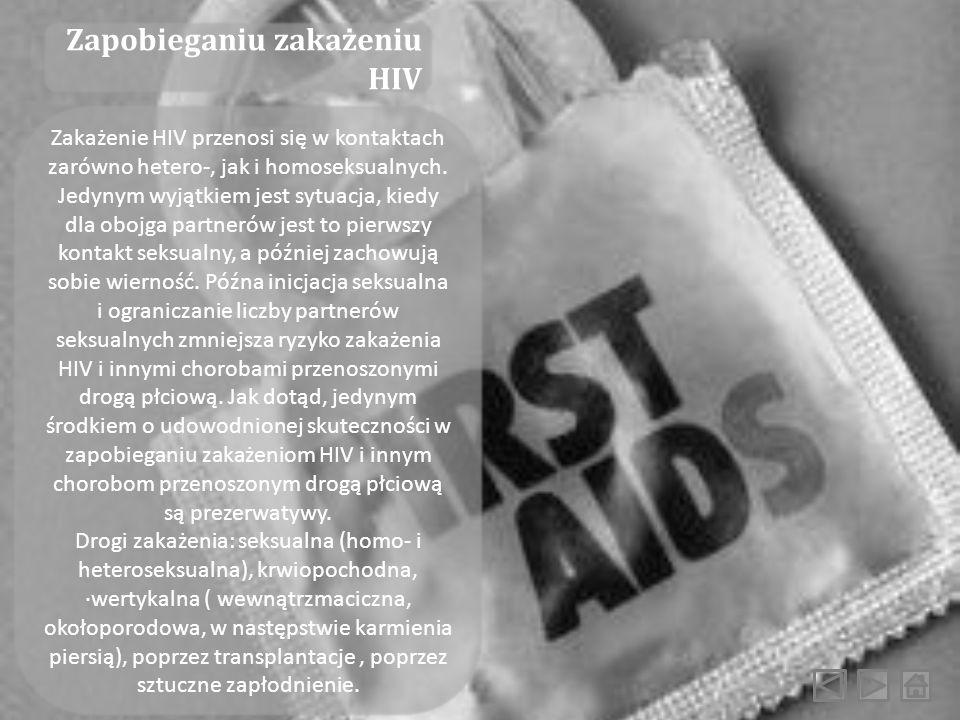 Zapobieganiu zakażeniu HIV