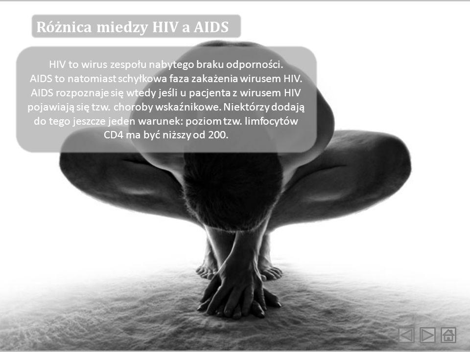 HIV to wirus zespołu nabytego braku odporności.