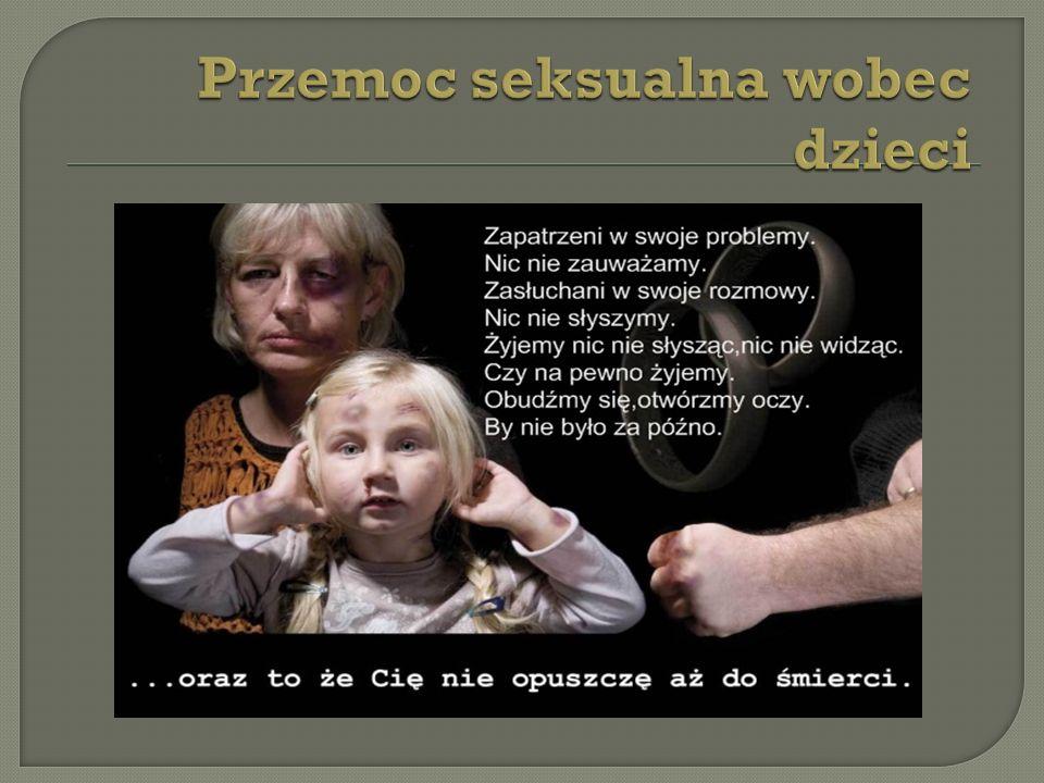 Przemoc seksualna wobec dzieci