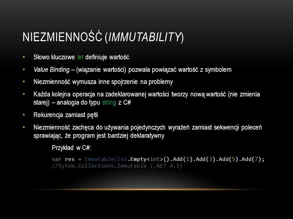 Niezmienność (Immutability)