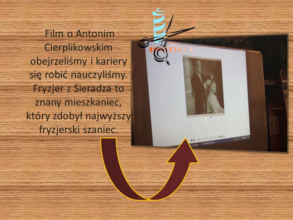 Film o Antonim Cierplikowskim obejrzeliśmy i kariery się robić nauczyliśmy.