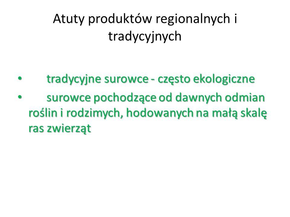 Atuty produktów regionalnych i tradycyjnych