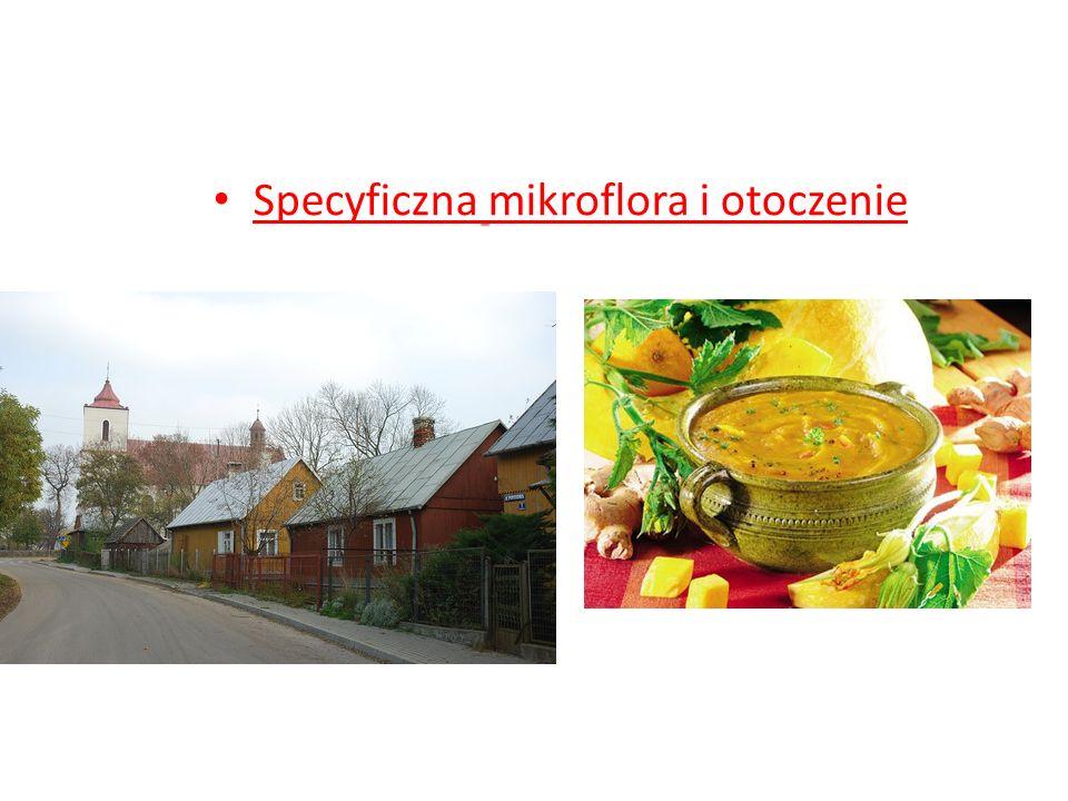 Specyficzna mikroflora i otoczenie