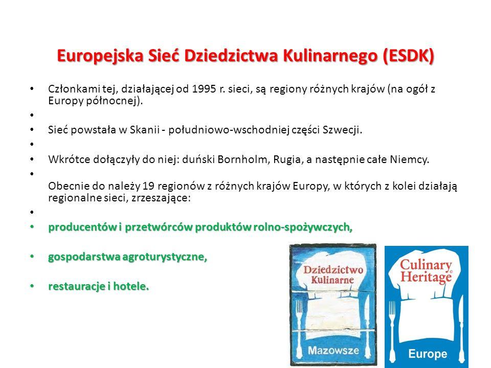 Europejska Sieć Dziedzictwa Kulinarnego (ESDK)