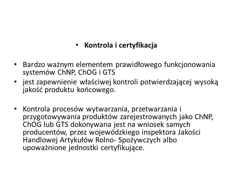 Kontrola i certyfikacja