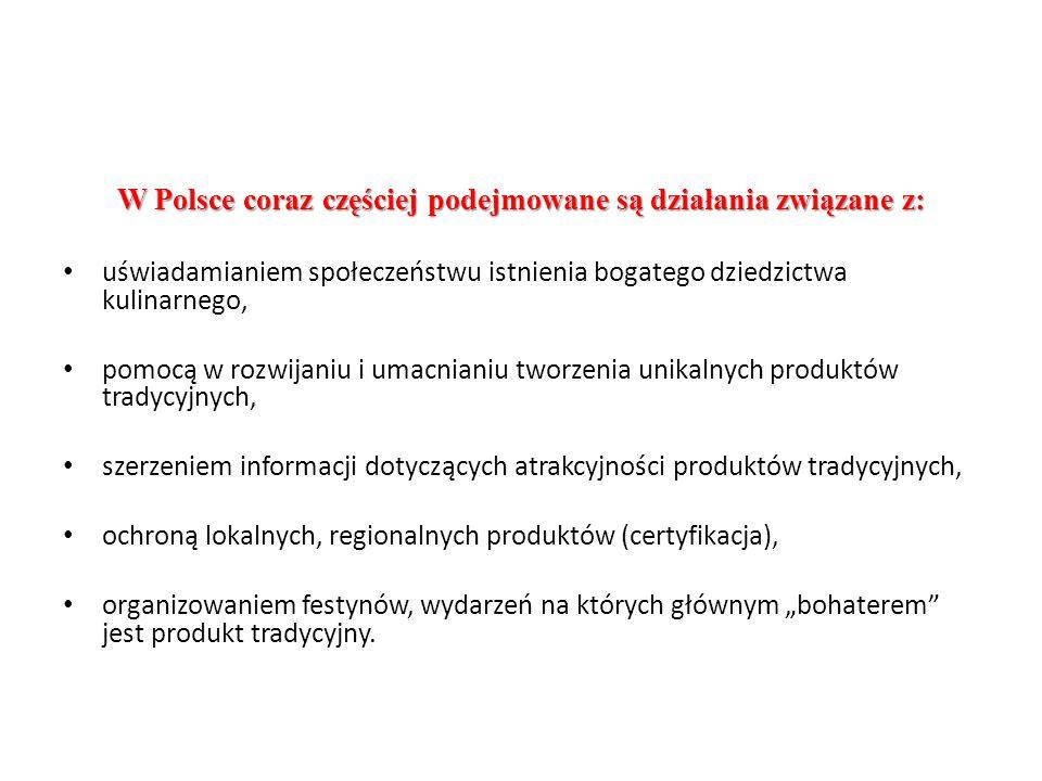 W Polsce coraz częściej podejmowane są działania związane z: