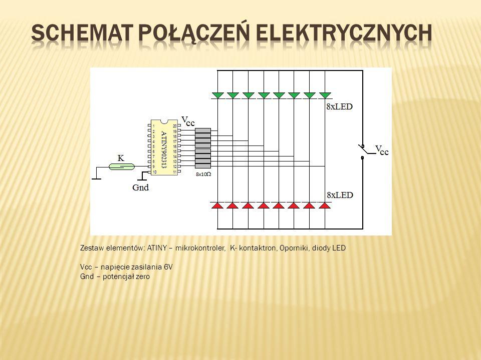 Schemat połączeń elektrycznych