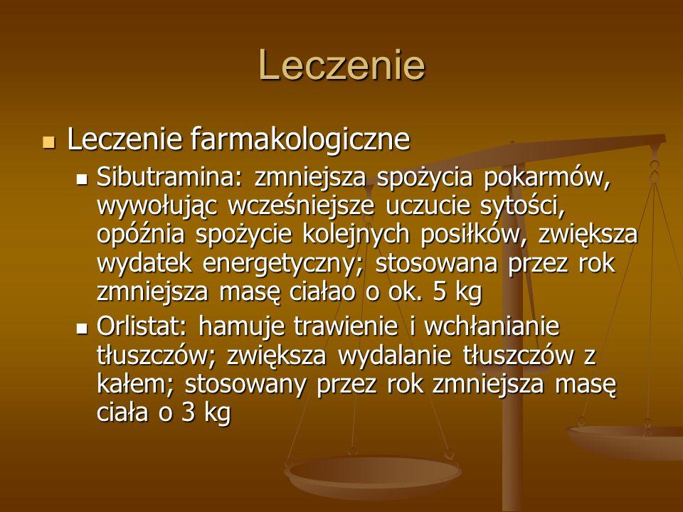 Leczenie Leczenie farmakologiczne