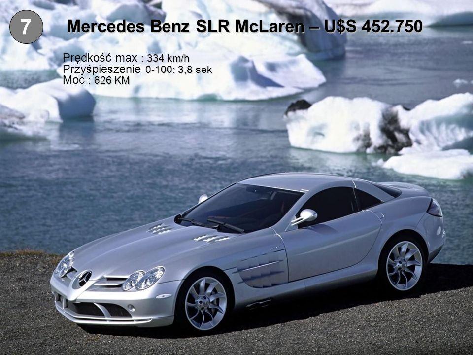Mercedes Benz SLR McLaren – U$S 452.750