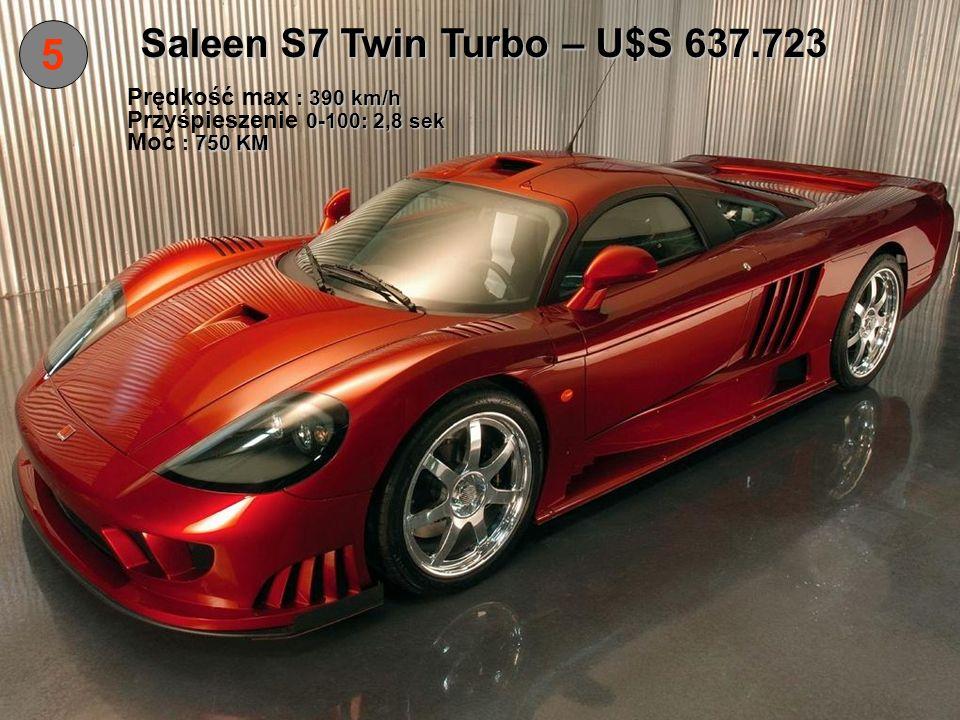 Saleen S7 Twin Turbo – U$S 637.723