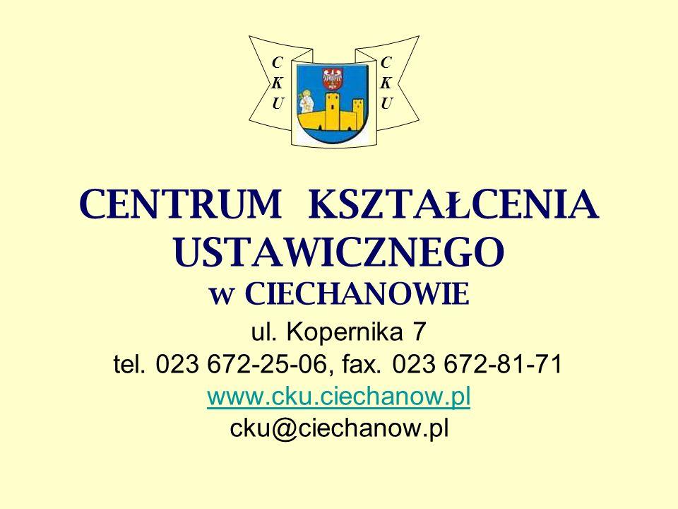 CK U. CENTRUM KSZTAŁCENIA USTAWICZNEGO w CIECHANOWIE ul.