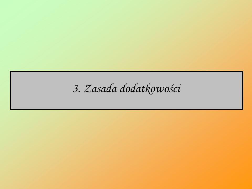 3. Zasada dodatkowości
