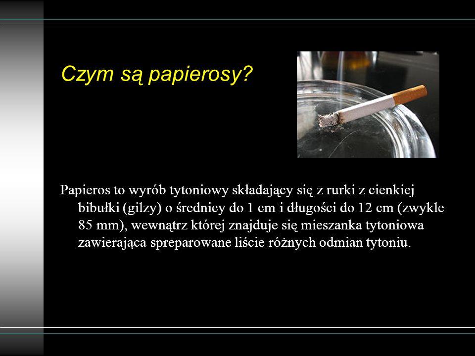 Czym są papierosy