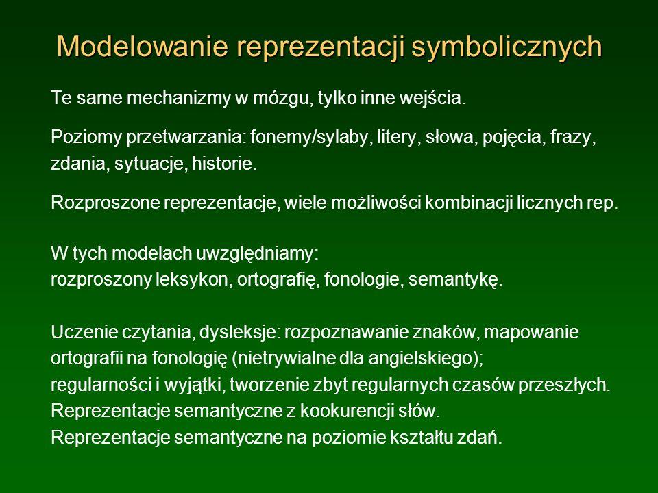 Modelowanie reprezentacji symbolicznych
