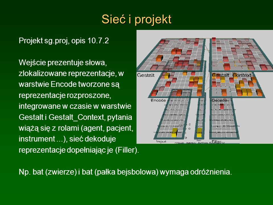 Sieć i projekt Projekt sg.proj, opis 10.7.2