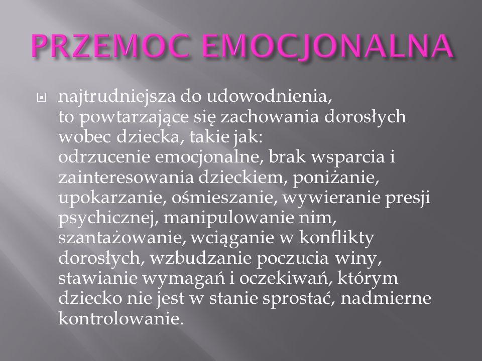 PRZEMOC EMOCJONALNA