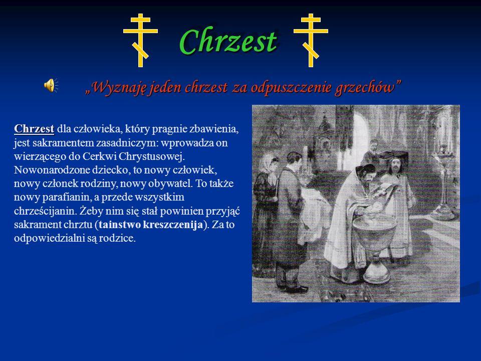 """""""Wyznaję jeden chrzest za odpuszczenie grzechów"""