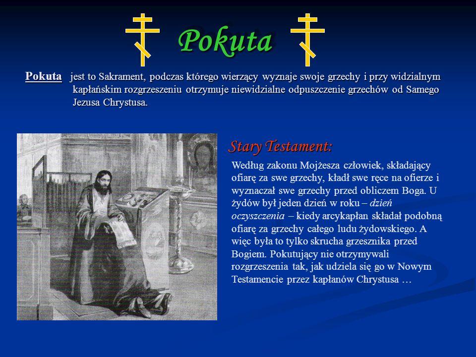Pokuta Stary Testament: