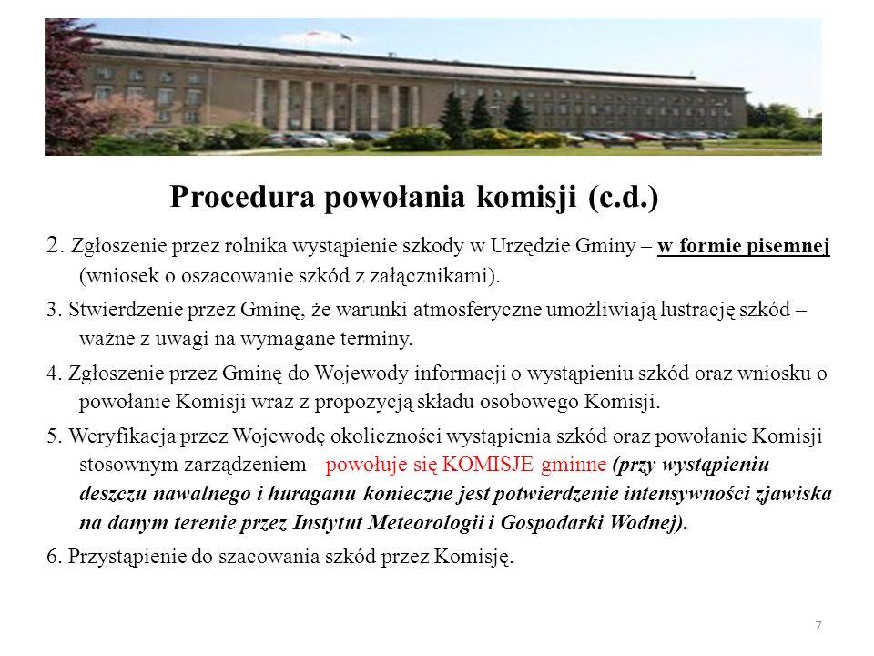 Procedura powołania komisji (c.d.)