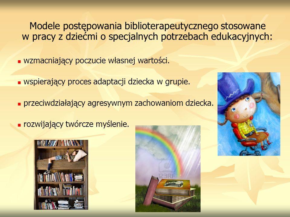Modele postępowania biblioterapeutycznego stosowane w pracy z dziećmi o specjalnych potrzebach edukacyjnych: