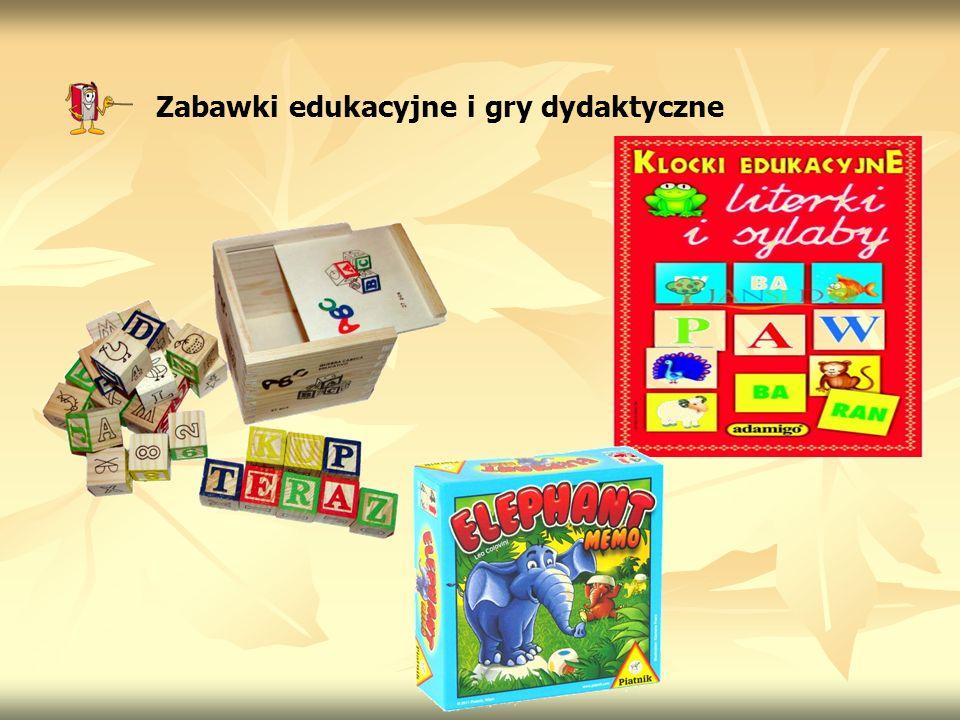 Zabawki edukacyjne i gry dydaktyczne