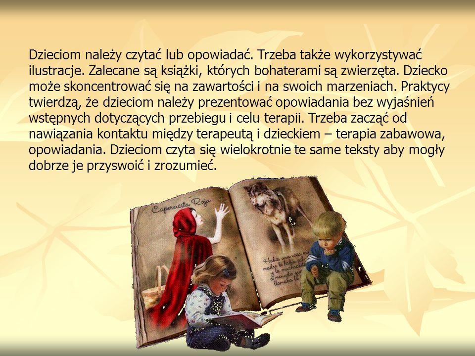 Dzieciom należy czytać lub opowiadać. Trzeba także wykorzystywać