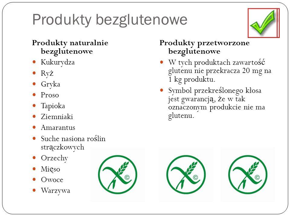 Produkty bezglutenowe
