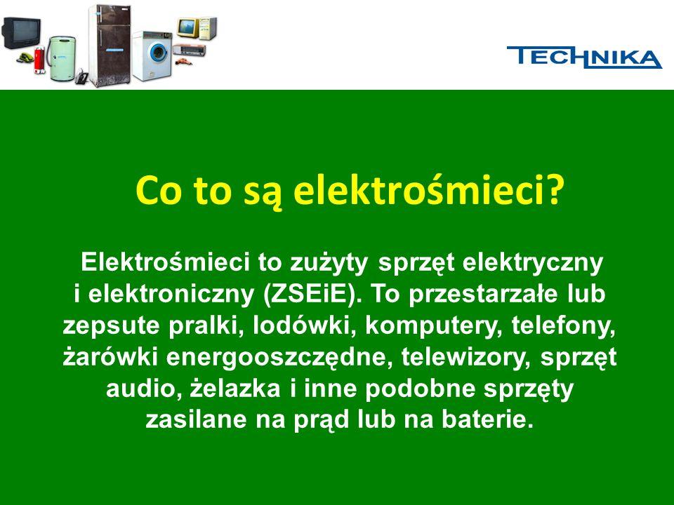 Co to są elektrośmieci