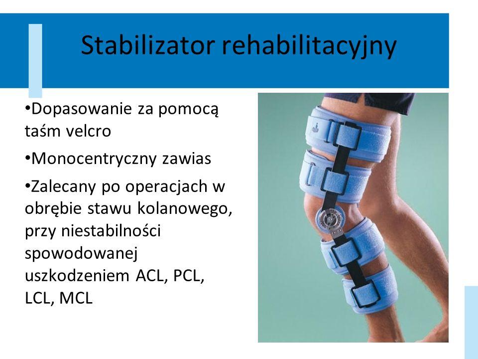 Stabilizator rehabilitacyjny