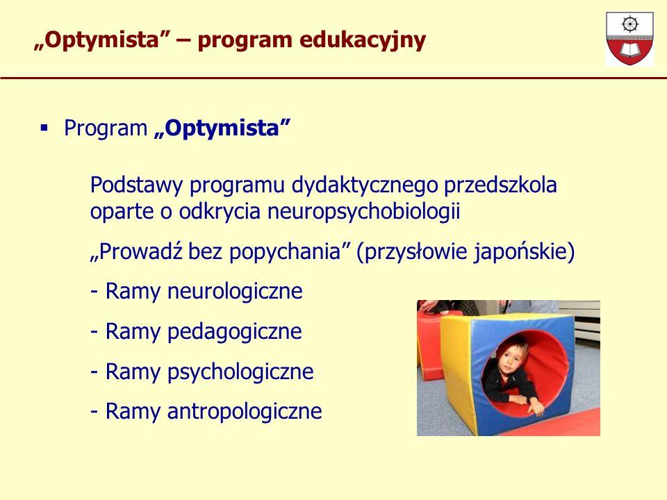 """""""Optymista – program edukacyjny"""