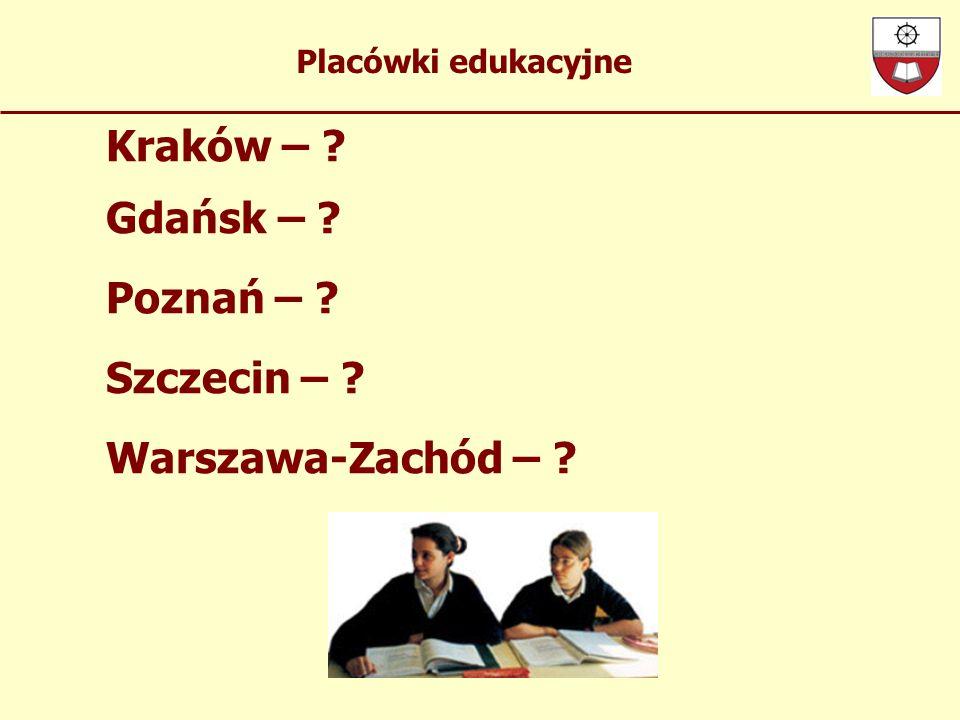 Kraków – Gdańsk – Poznań – Szczecin – Warszawa-Zachód –