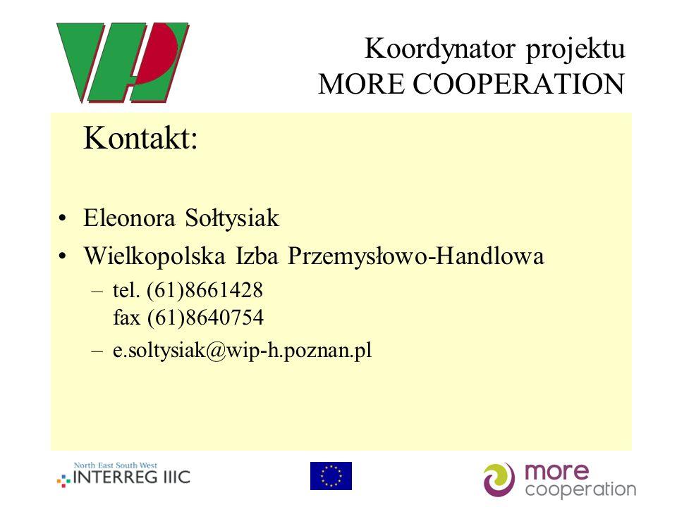 Koordynator projektu MORE COOPERATION