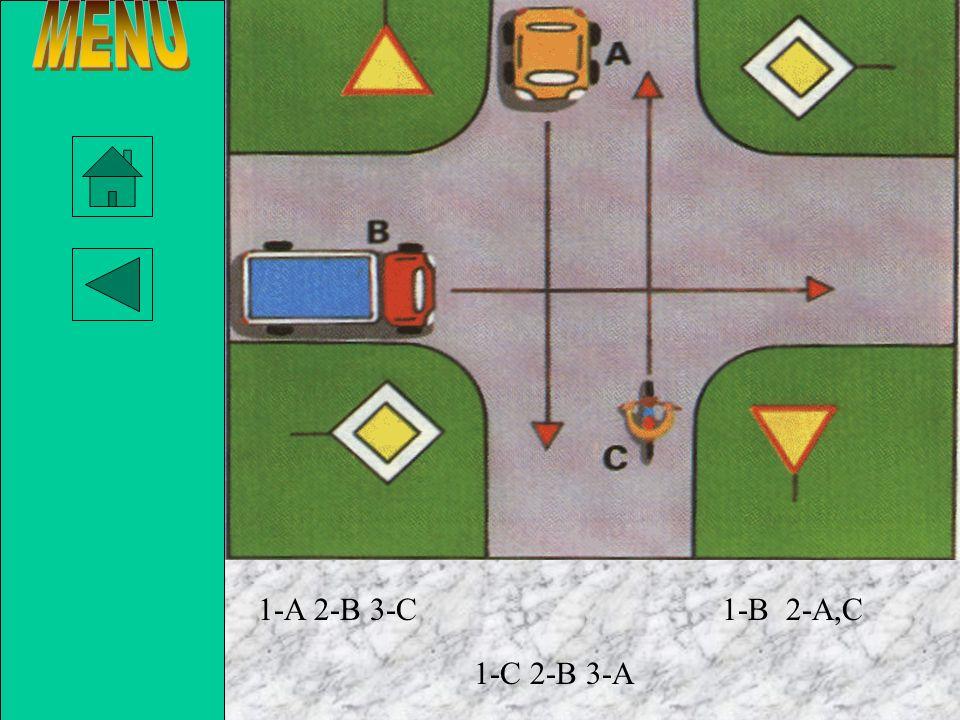 MENU 1-A 2-B 3-C 1-B 2-A,C 1-C 2-B 3-A