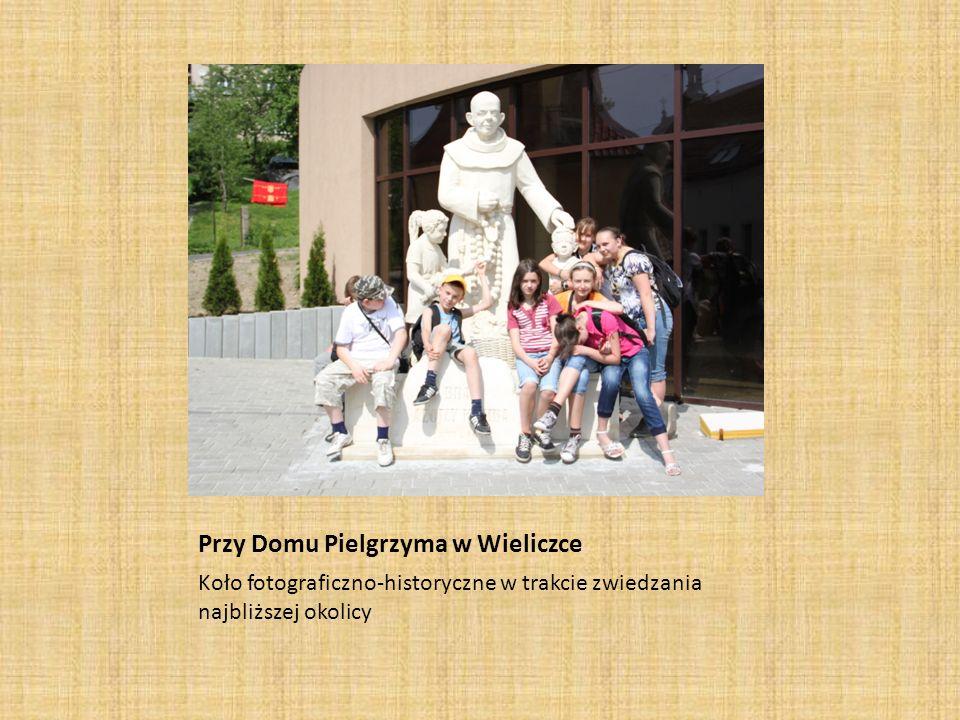 Przy Domu Pielgrzyma w Wieliczce
