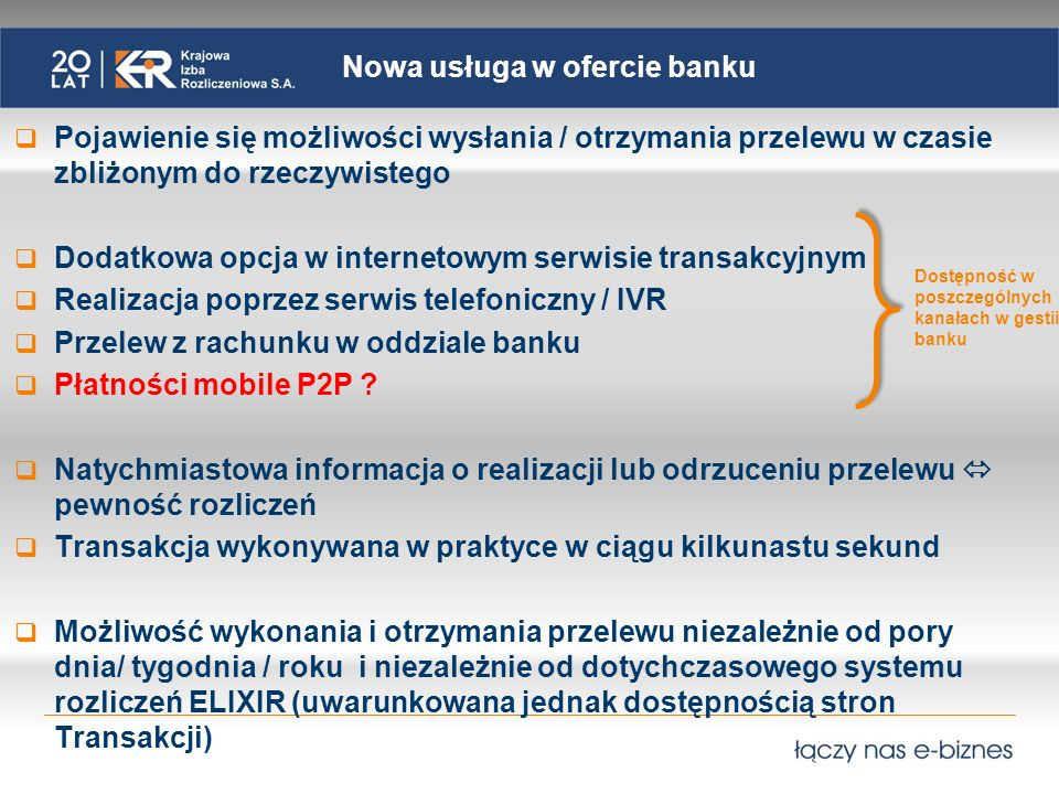 Nowa usługa w ofercie banku