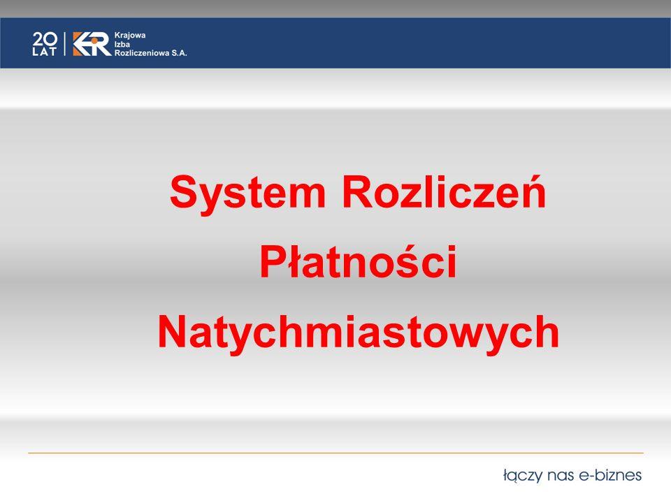 System Rozliczeń Płatności Natychmiastowych