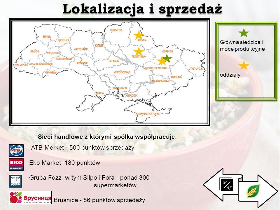 Lokalizacja i sprzedaż