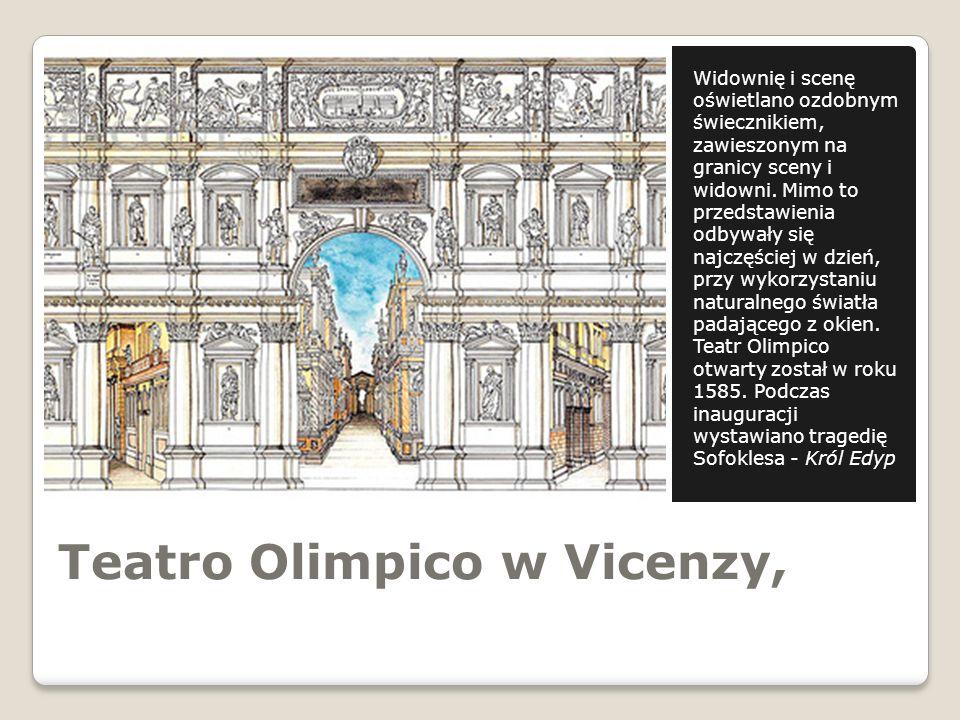 Teatro Olimpico w Vicenzy,