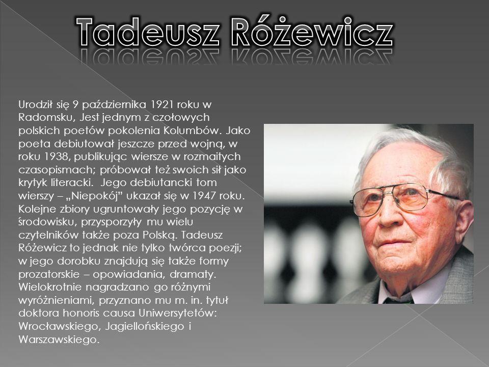 Tadeusz Różewicz