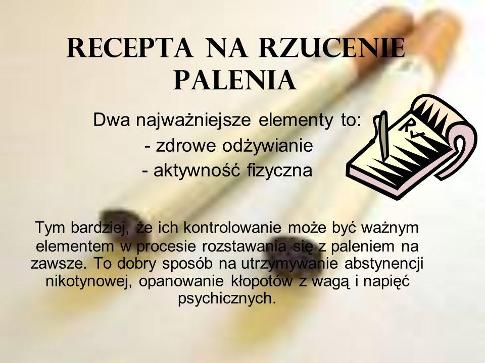 RECEPTA NA RZUCENIE PALENIA