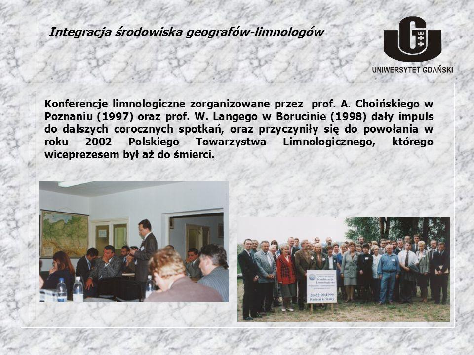 Integracja środowiska geografów-limnologów