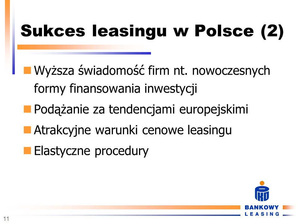 Sukces leasingu w Polsce (2)