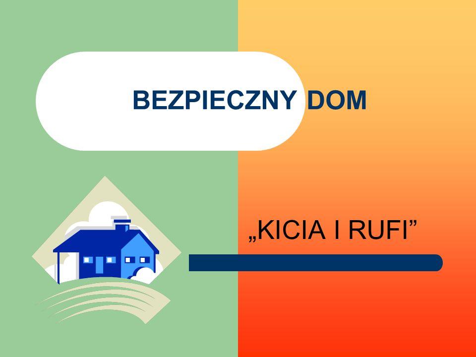 """BEZPIECZNY DOM """"KICIA I RUFI"""