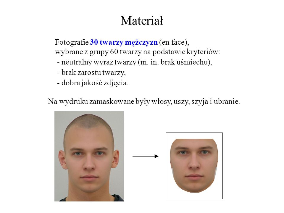 Materiał Fotografie 30 twarzy mężczyzn (en face),