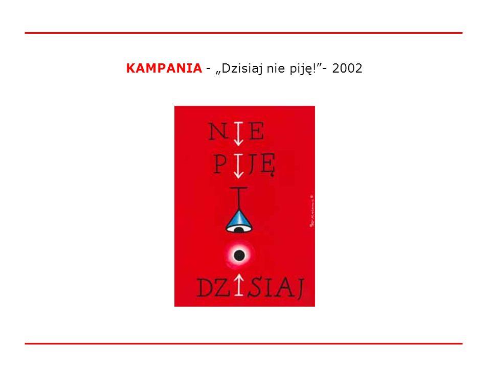 """KAMPANIA - """"Dzisiaj nie piję! - 2002"""