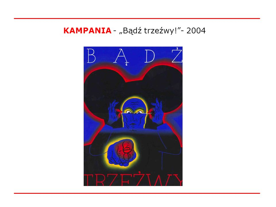 """KAMPANIA - """"Bądź trzeźwy! - 2004"""